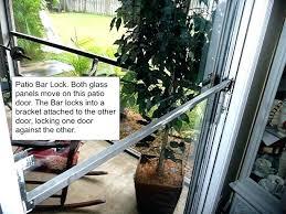 replacing patio door locks sliding glass door security sliding patio door security sliding glass door security