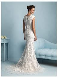 allure modest wedding dress style m536 house of brides