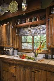 rustic cabin kitchens.