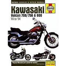 kawasaki vulcan 750 manual haynes motorcycle repair manual m2457 kawasaki vulcan 700 750 800 fits kawasaki vulcan 750