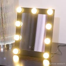 hollywood makeup mirror hot led bulb vanity lighted makeup mirror with dimmer se beauty mirror