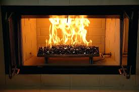 fireplace glass rocks installation fireplace design ideas with tv above