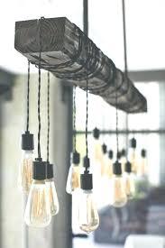 edison light chandelier best bulb ideas on hanging with fixture pottery barn edison light chandelier