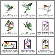 Hummingbird Bookmarks 5x7