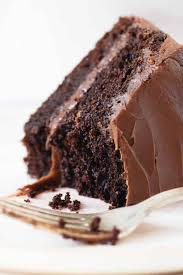 Try spreading raspberry preserves or strawberry jam on top of the bottom layer before you place the second cake layer on top. Double Chocolate Layer Cake Vintage Kitchen