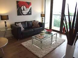 Modern Living Room For Small Spaces Living Room Elegant Small Living Room Design With Striped Carpet