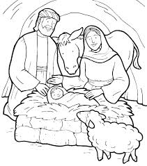 Jesus Baptism Coloring Page I Will Show My Faith In By Being