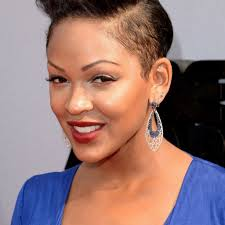 captivating short natural curly hairstyle for black women mohawk