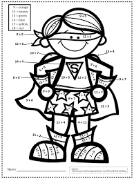 0b479ec9895745beb8b090acb09c803c superhero coloring pages nd grade math 25 best ideas about grade 2 math worksheets on pinterest 2nd on unit 7 exponent rules worksheet 2