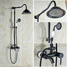 dreamspa shower head oil rubbed bronze wall mounted black faucet set 8 regarding rainfall with handheld dreamspa shower head