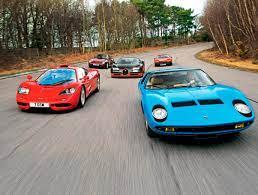 Ularning har biri uchun krish 360 ming yevrodan to'lagan. Mclaren F1 Bugatti Veyron Ss Ferrari 365 Gt4 Bb Lamborghini Miura Porsche 959 1 Curated