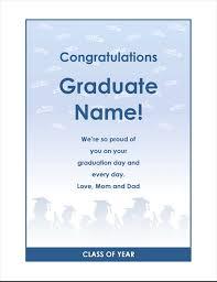 Another Word For Congratulations Graduate Congratulations Flyer Graduation Party Design