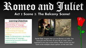 romeo and juliet act scene the balcony scene by tandlguru romeo and juliet act 2 scene 2 the balcony scene by tandlguru teaching resources tes