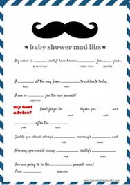 Mustache Baby Shower Games  Printable 2500 Via Etsy  Baby Free Printable Mustache Baby Shower Games
