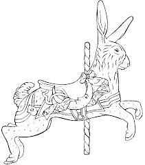 Small Picture Free Carousel Coloring PagesCarouselPrintable Coloring Pages