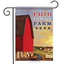ebay farm and garden. faith family farm primitive garden flag blue truck cows 13\ ebay and e
