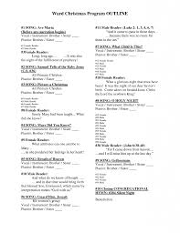 Church Event Program Template - Blogihrvati.com