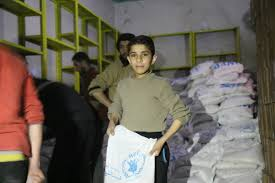 Breakthrough In Access As WFP Delivers Life-Saving Food To Five Besieged  Towns In Syria   World Food Programme