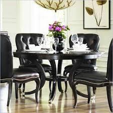 elegant black dining room set black dining room set round gencongress spectacular black dining table set
