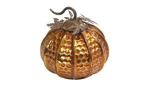 assorted 6 inch diameter hand blown art glass verigated color pumpkins groupon