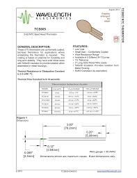 5k Ohm Thermistor Chart Tcs605 5k Ohm Temperature Chart Manualzz Com