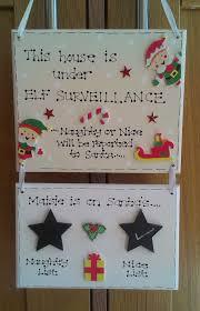 Personalised Christmas Elf Naughty Nice List Behaviour