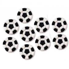 Soccer Ball Icing Decorations Soccer Balls Icing Decorations 100 pack Plastic Container City 7