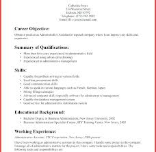 Resume Template Administrative Assistant Stunning High School Job Resume Sample Student Templates Resumes Template
