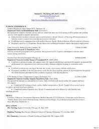 Nursing Resume Examples 2017 Resume Registered Nurse New Grad Krida 53