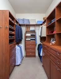 small custom closets for women. Narrow Walk-In Closet In Warm Cognac Premier Small Custom Closets For Women