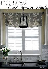 collection in short curtains for kitchen window ideas with best 25 kitchen window treatments ideas on home decorating ideas kitchen