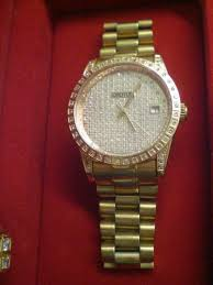 scrcashadvance for available in store croton men s watch diamond case gold plated