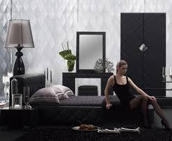 Modern black furniture Dark Serenade44 La Furniture Blog Black And White Bedroom Theme Via Modern Furniture La Furniture Blog