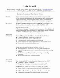 Prep Cook Resume Luxury Line Cook Resume Examples Beautiful Chef
