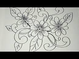 Gambar batik bunga yang mudah di gambar 43 sketsa bunga motif batik via blogteraktual.com. 30 Spesial Sketsa Motif Batik Modifikasi Gambar Batik