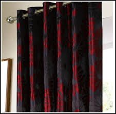 impressive designs red black. Magnificent Red Black Curtains Designs With And Uk Home Design Ideas Impressive
