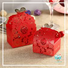 Decorating red door gifts photos : Wedding Gift Door Gift Box - Romance Series 03 – Kokoro Gifts