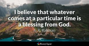 Gods Will Quotes Best Blessing Quotes BrainyQuote