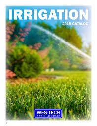 Irrigation Catalog By Wes Tech Irrigation Issuu