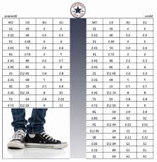 79 Efficient Sizing Chart For Converse