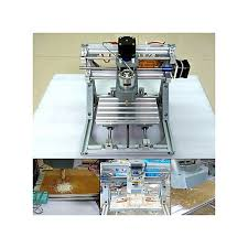 3 axis mini cnc milling machine engraving diy router kit 2500mw laser engraver