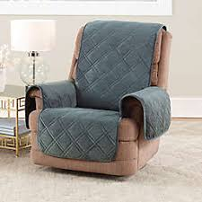 Living room chair covers Homemade Sure Fit Triple Protection Recliner Cover Bed Bath Beyond Chair Recliner Slipcovers Dining Room Chair Covers Bed Bath