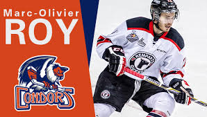 condors sign 2nd round pick marc olivier roy