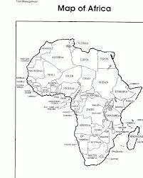 Small Picture The Continent Of Africa Coloring Page Coloring Home
