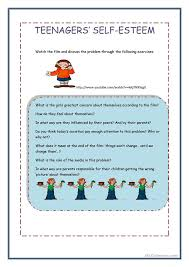 Self Esteem Worksheets Girls Free Worksheets Library | Download ...
