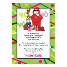 ghetto invitations & announcements zazzle Ghetto Wedding Invitations wrapper's delight ghetto fabulous christmas party card Worst Wedding Invitations