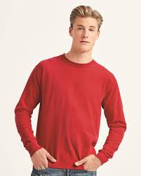 Chouinard Comfort Colors Color Chart Comfort Colors 6014 Garment Dyed Heavyweight Long Sleeve T
