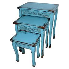turquoise end table turquoise blue wooden distressed side accent table large turquoise table lamp australia