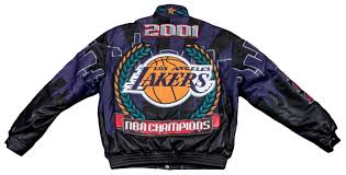 2001 los angeles lakers back to back nba champions custom jeff hamilton jacket