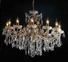 gold chandelier 12 arm vc329